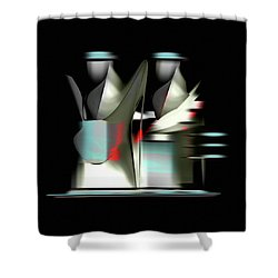 Penman Original-841 Shower Curtain by Andrew Penman