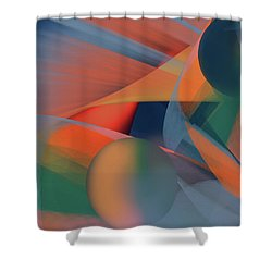 Penman Original-943 Shower Curtain by Andrew Penman