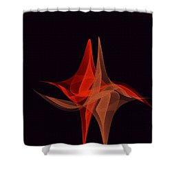 Shower Curtain featuring the painting Penmanoriginal- 277 by Andrew Penman