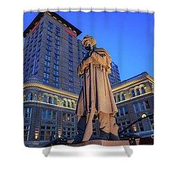 Penn Square Lancaster City Shower Curtain