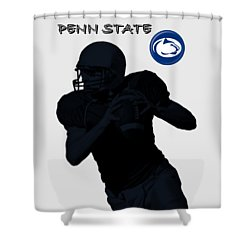 Penn State Football Shower Curtain by David Dehner