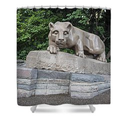 Penn Statue Statue  Shower Curtain by John McGraw