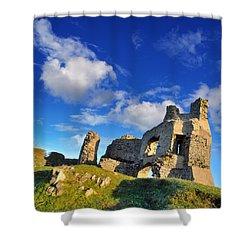 Pennard Castle Shower Curtain