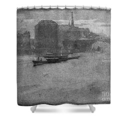 Pennell Thames, 1903 Shower Curtain by Granger
