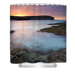 Pennington Dawn Shower Curtain by Mike  Dawson