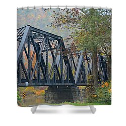 Pennsylvania Bridge Shower Curtain