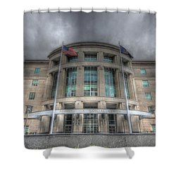 Pennsylvania Judicial Center Shower Curtain by Shelley Neff