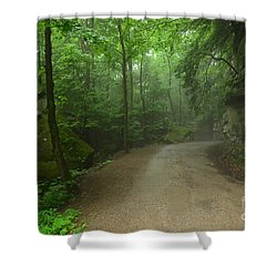 Pennsylvania Mountain Scene - 2 Shower Curtain by Bob Sample