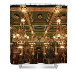 Pennsylvania Senate Chamber Shower Curtain by Shelley Neff