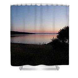 Pennyghael Sunset Shower Curtain