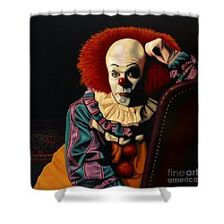 Pennywise Shower Curtain