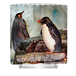 Penquin Shower Curtain