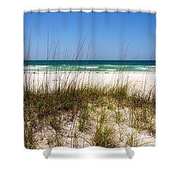 Pensacola Beach 1 - Pensacola Florida Shower Curtain by Brian Harig