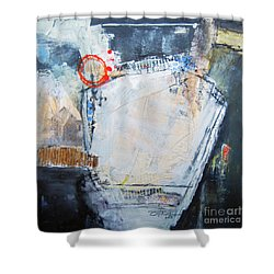 Pentagraphic Shower Curtain