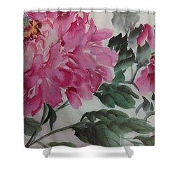 Peoney20161230_623 Shower Curtain