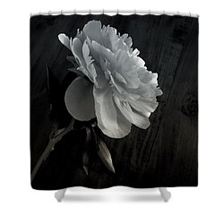 Shower Curtain featuring the photograph Peonie by Sharon Jones