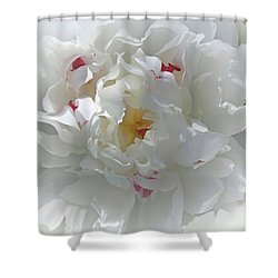 Shower Curtain featuring the photograph Peony by Bonnie Willis