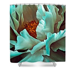 Peony Flower Shower Curtain
