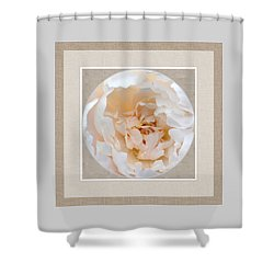 Shower Curtain featuring the digital art Peony Passion by Darla Wood