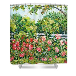 Peony Riot Shower Curtain