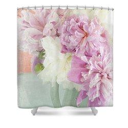 Peony Sorbet Shower Curtain