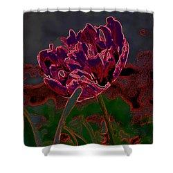 Peony Tulip Shower Curtain