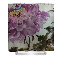 Peony20170213_1 Shower Curtain by Dongling Sun