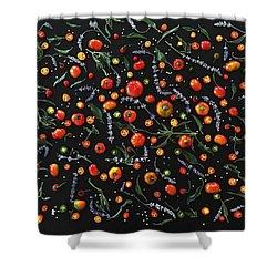 Pepper Pattern Shower Curtain