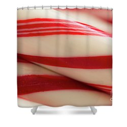 Pepperminty Shower Curtain