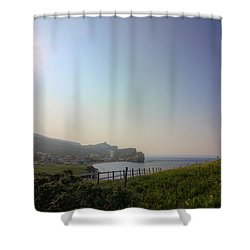Perce Afternoon Sun Shower Curtain