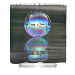 Perception Shower Curtain by Cathie Douglas