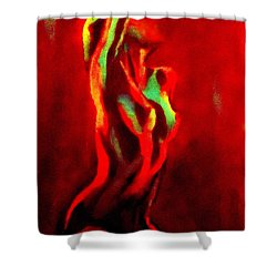 Perceptions Shower Curtain