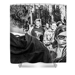 Shower Curtain featuring the photograph Percolate by David Sutton