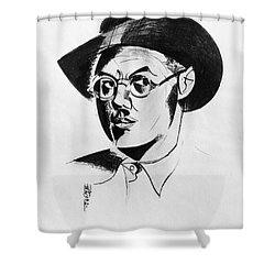 Percy Wyndham Lewis Shower Curtain by Granger