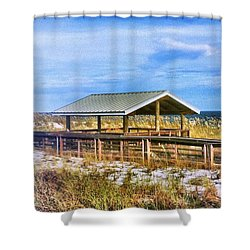 Perdido  Shower Curtain