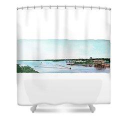 Perdido Key Bay Shower Curtain