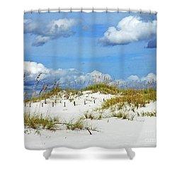 Perdido Key Fl Dunes Shower Curtain