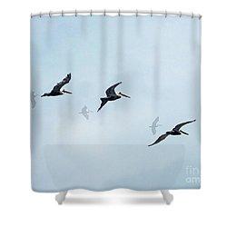 Perdido Patrol Shower Curtain