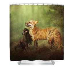 Shower Curtain featuring the digital art Perfect Bliss by Nicole Wilde