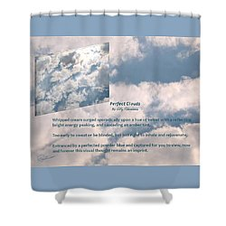 Perfect Clouds Shower Curtain