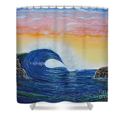 Perfect Curl Shower Curtain