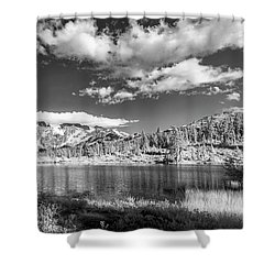 Shower Curtain featuring the photograph Perfect Lake At Mount Baker by Jon Glaser