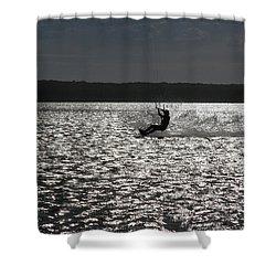 Shower Curtain featuring the photograph Perfect Light At Lake Wollumboola by Miroslava Jurcik