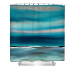 Shower Curtain featuring the digital art Perfect Moment by Yul Olaivar