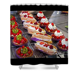 Perfect Pastries Shower Curtain