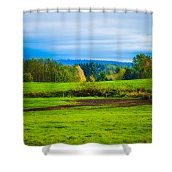 Perfect Place For A Meadow Shower Curtain