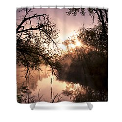 Perfect Reflections Shower Curtain by Annette Berglund