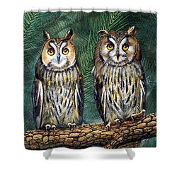 Perfect Strangers Shower Curtain