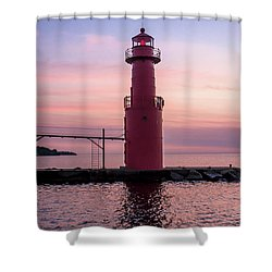 Perfectly Steadfast Shower Curtain