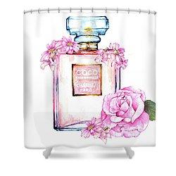 Perfume Florals Shower Curtain by Heidi Kriel